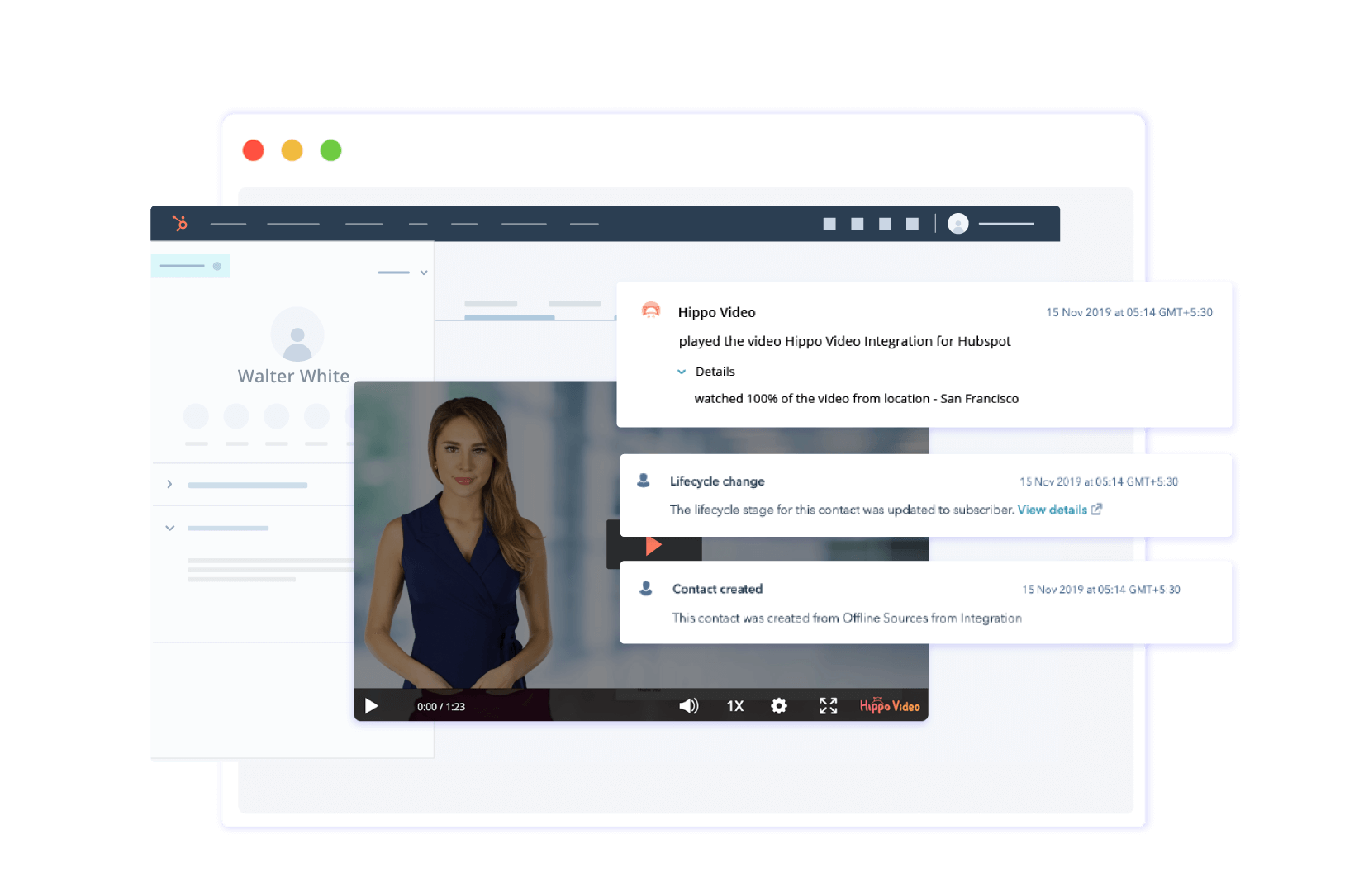 Insert HubSpot forms in videos